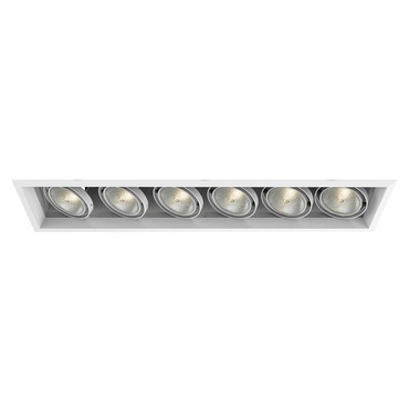 Ceiling recessed downlights ceiling down lighting multiple 7 inch 6 light 6x75w par30 remodel housing w trim aloadofball Image collections