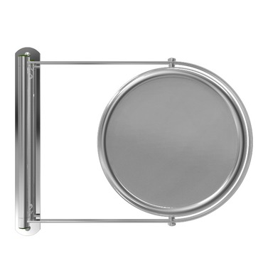 Swing-Out Wall Mirror by Remcraft Lighting | e3-x chrome