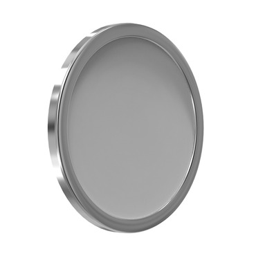 Directional Mount Mirror W / Adhesive Tabs by Remcraft Lighting | M10S-WB-3X-SN