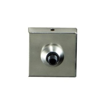 Freejack 2 Inch Square Flush Canopy 24V by Tech Lighting | 700fj2sq67s024