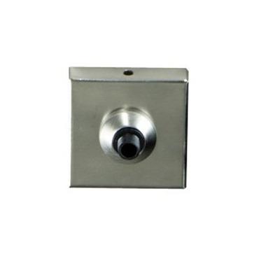 Freejack 2 Inch Square Flush Canopy 24V by Tech Lighting | 700FJ2SQ67S024