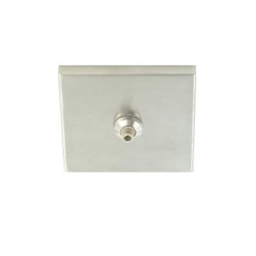 Freejack 4 Inch Square Flush Canopy by Tech Lighting | 700FJ4SQS
