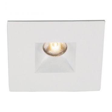 LEDme 1 inch Mini LED Square Recessed Trim with Housing  by WAC Lighting | HR-LED251E-W-WT