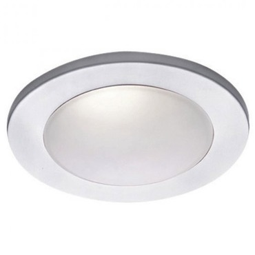 4 Inch Drop Dish Glass Dome Trim by WAC Lighting | HR-D418-WT
