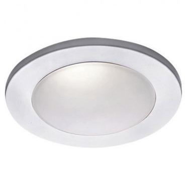Low Voltage 4IN Drop Dish Premium Shower Trim by WAC Lighting | HR-D418-WT