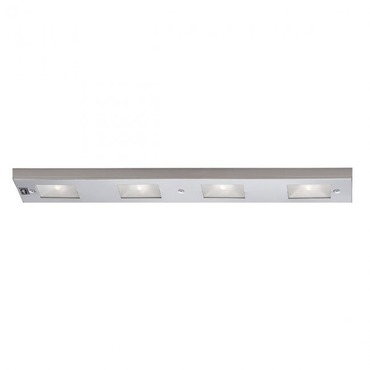 Premium Xenon Under Cabinet Light Bar by WAC Lighting | BA-LIX-1-SN