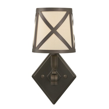 Webster Wall Sconce W / Cage by Tech Lighting | 600webwccz