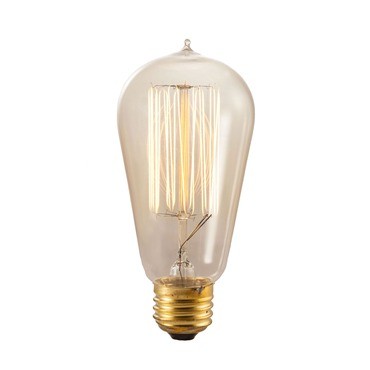 Nostalgic ST18 E26 Squirrel Cage Bulb 40W 120V by Bulbrite | 134019
