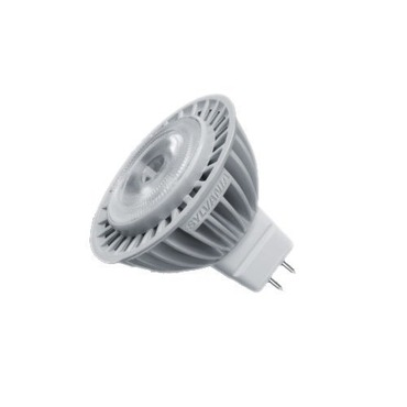 MR16 LED BiPin Base 6W 12V 3000K 25 Degree