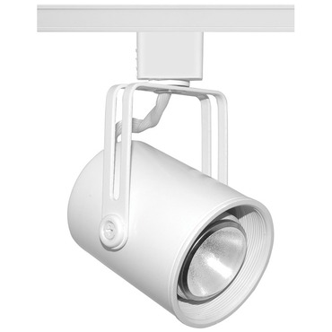 T421 Mini PAR16 Flat Back Trac Master Lamp Holder by Juno Lighting | T421W-WH