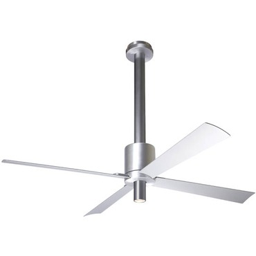 Pensi Ceiling Fan with Light by Modern Fan Co. | pen-aa-50-al-150-nc