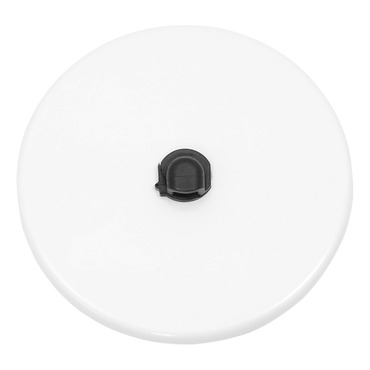4 Inch Round Junction Box Cover by PureEdge Lighting | 4RD-WH