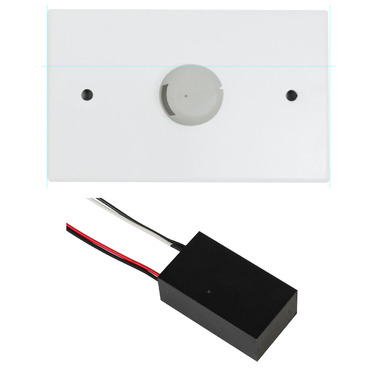 60W LED 12VAC Electronic Transformer with Canopy by PureEdge Lighting | TE-60L-12AC-3RE-WH