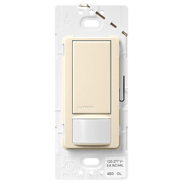 Maestro Switch with Occupancy Sensor by Lutron | MS-OPS6M2-DV-AL
