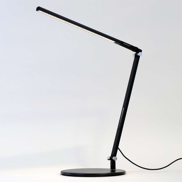 Z-Bar Solo Mini LED Desk Lamp by Koncept Lighting | ar1100-c-sil-dsk