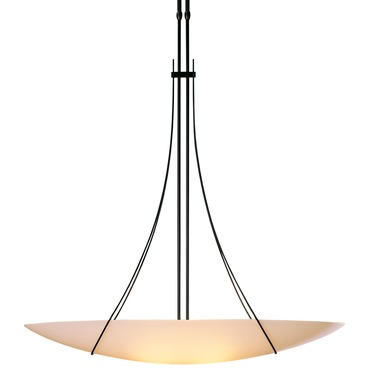 Drape Loop Large Adjustable Suspension by Hubbardton Forge | 133155-07-G92
