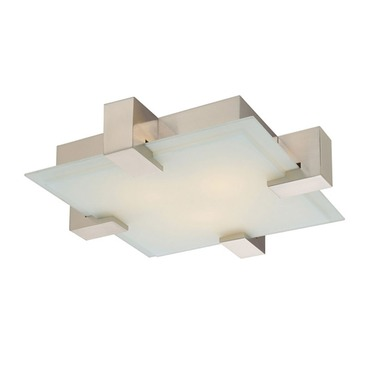 Dakota Ceiling Flush Mount by Sonneman A Way Of Light | 3680.13F