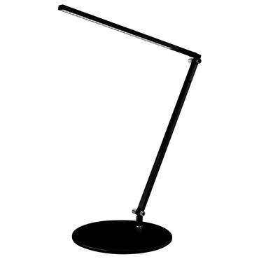 Z-Bar Solo LED Desk Lamp by Koncept Lighting | AR1000-WD-MBK-DSK