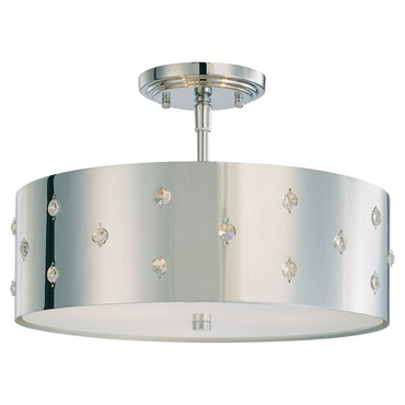 Bling Bling Semi Flush Ceiling Mount by George Kovacs | p035-077