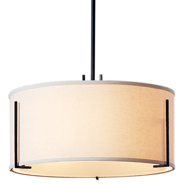 Exos Round Single Shade Pendant by Hubbardton Forge | 139600-1084