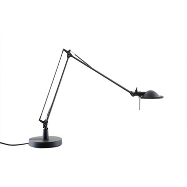 Berenice Table Lamp by Luce Plan USA | LC-1D120=P0E501+BASE-BK