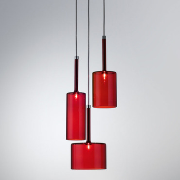 Spillray Pendant Trio by Axo Light | USSPILL3RSCR12V