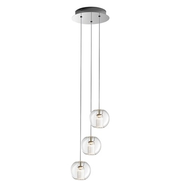 Fairy Sphere 3 Light Suspension by Leucos | LEU-0703277013465