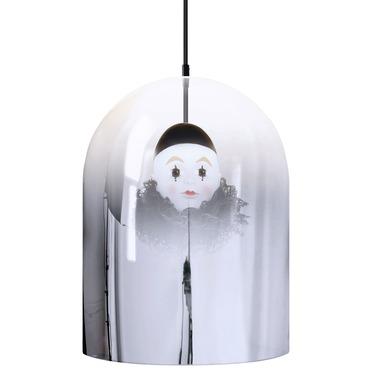 Pierrot Mirror Dome Pendant