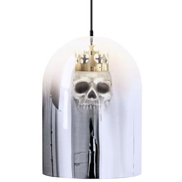 King Arthur Mirror Dome Pendant