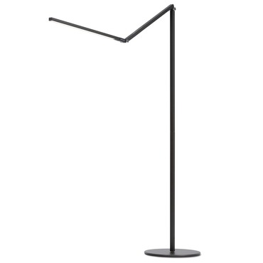 Z-Bar LED Floor Lamp by Koncept Lighting | ar5000-w-mbk-flr
