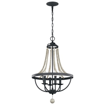 Nori 4 light chandelier
