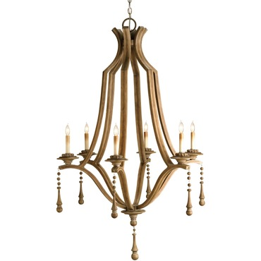 Simplicity Chandelier by Currey and Company | 9798-CC
