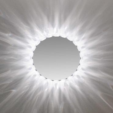 Marilyn Round Mirror by Edge Lighting | MAR-RD-22-K1-CH