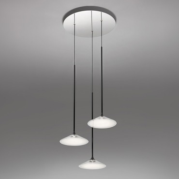 Modern lighting contemporary lighting by artemide orsa multi light pendant aloadofball Choice Image
