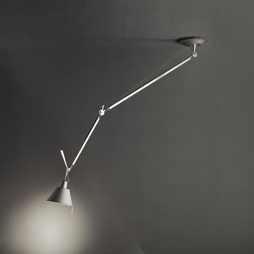 Tolomeo Off Center Suspension with Aluminum Shade by Artemide | TOL1020