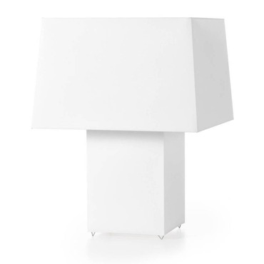 Double Square Table Lamp