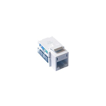 RJ45 Cat 5e Network Jack by Lutron | CON-1P-C5E-WH