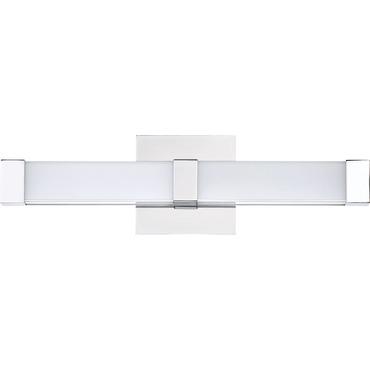 Platinum emblem bathroom vanity light