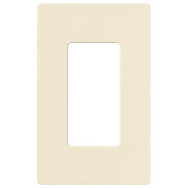 Claro 1-Gang Wall Plate by Lutron | CW-1-AL