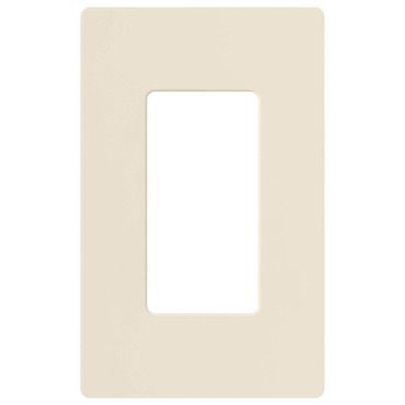 Claro Designer Style 1 Gang Wall Plate