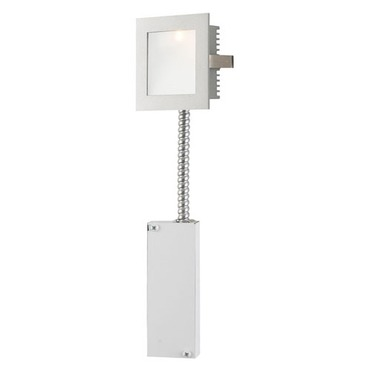 Step Light Main LED Wall Mount W / Lens