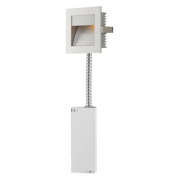 Step Main LED Wall Mount W / Corrugated Faceplate