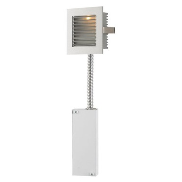Step Satlt LED Wall Mount W / Louvered Faceplate