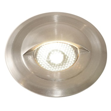 Miniport LED Eyelid Trim Step Light  by PureEdge Lighting | MPORT-12VAC-EL-SS