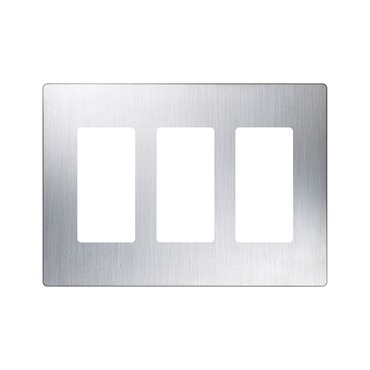 Claro Designer Style 3 Gang Wall Plate