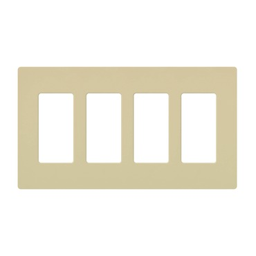 Claro Designer Style 4 Gang Wall Plate