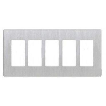 Claro Designer Style 5 Gang Wall Plate