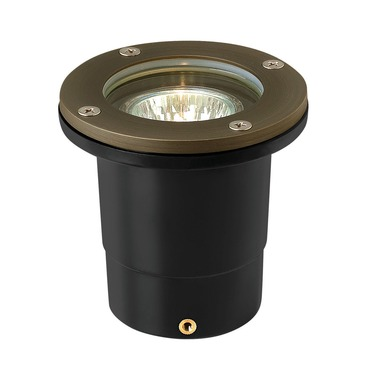 Hardy Island Flat Top Exterior Well Light by Hinkley Lighting | 16701MZ