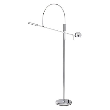 Orbiter Swing Arm Floor Lamp