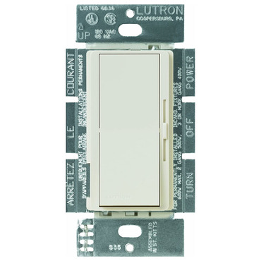 Diva Preset 600W Incandescent Single Pole Dimmer